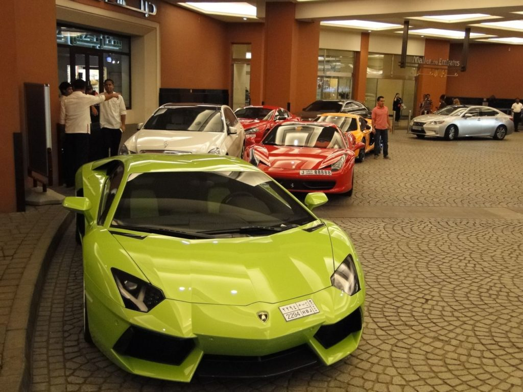 Dubai Mall of Emirates (autos)