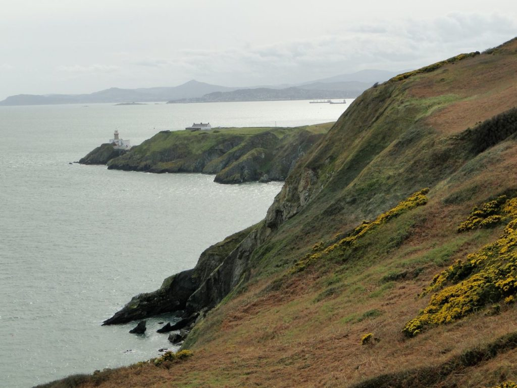 Baily Lighthouse Howth Cliff Walk (Dublin - Ierland)