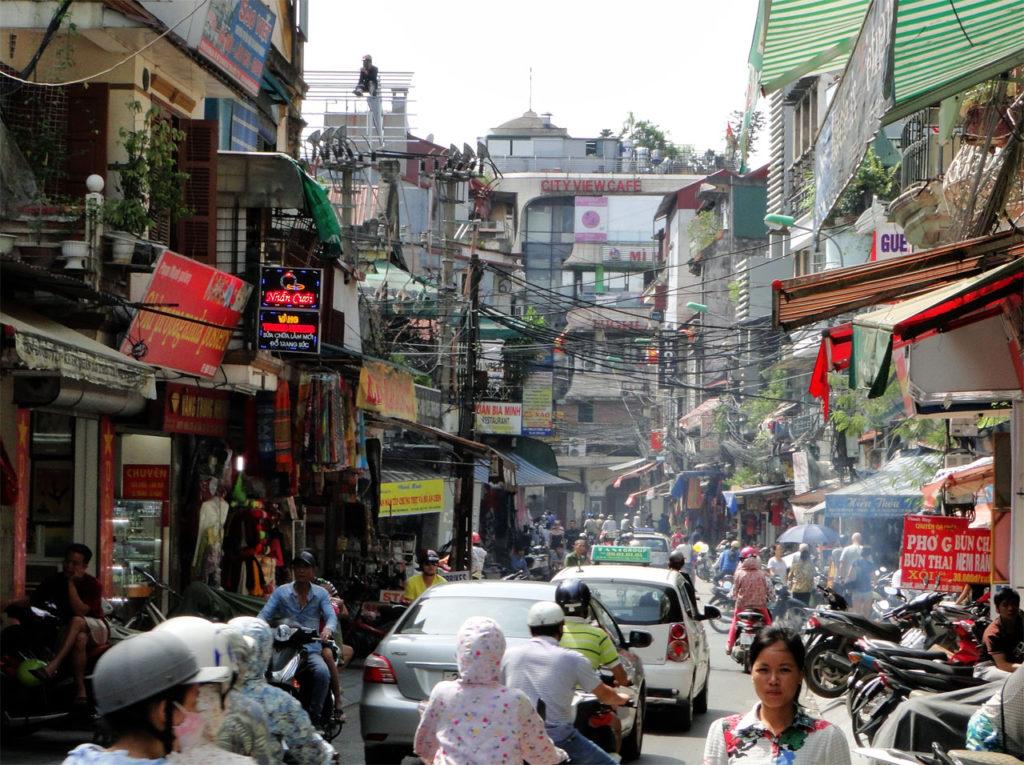 Hanoi - straatbeeld