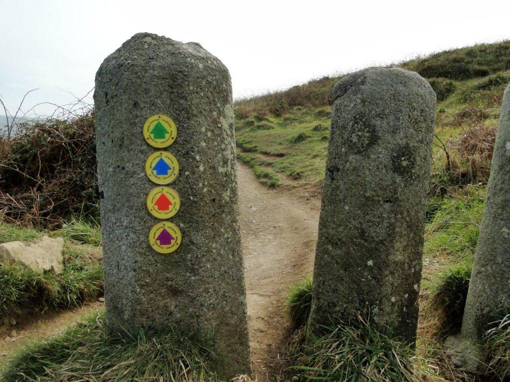 Howth Cliff Walk Routes (Dublin - Ierland)