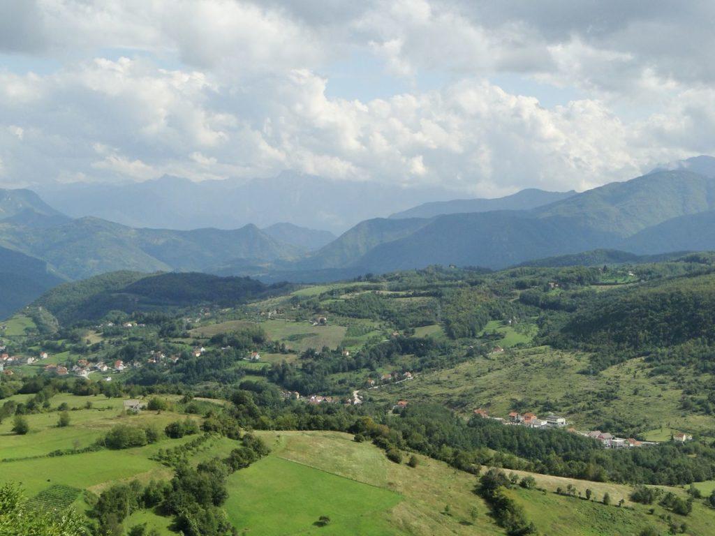 Landschap Bosnie