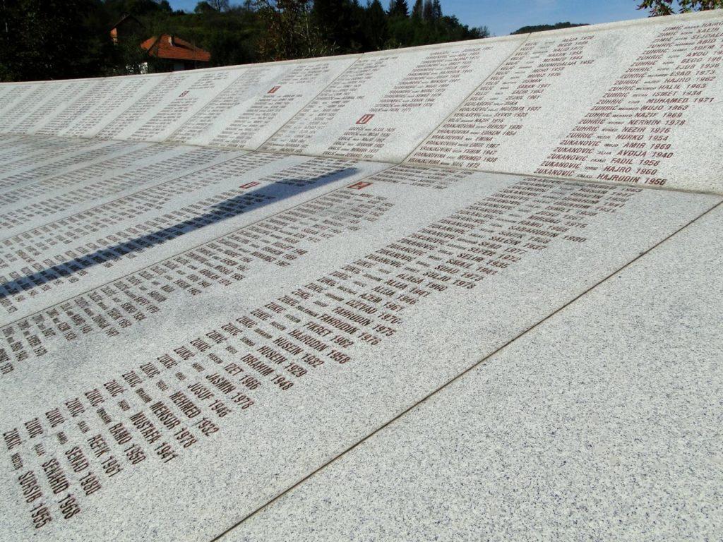Potocari Memorial Centre (Bosnie Herzegovina)