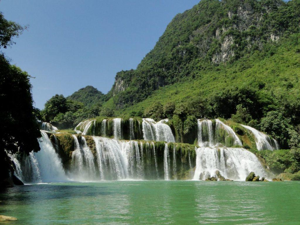 Vietnam (noordoosten) - Ban Gioc Waterval