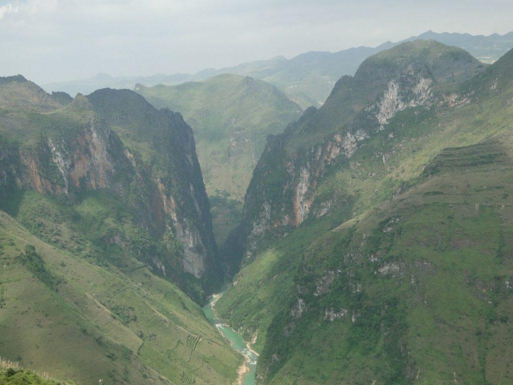 Vietnam (noordoosten) - Weg van Dong Van - Meo Vac
