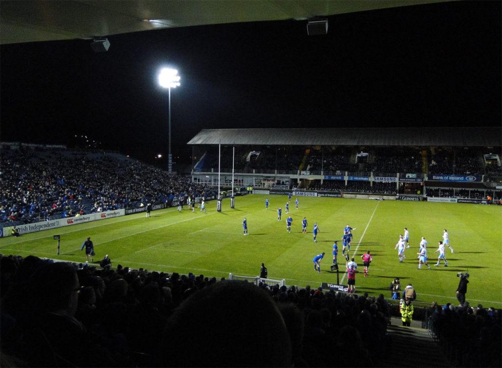 Ierland Dublin Rugy RDS Arena