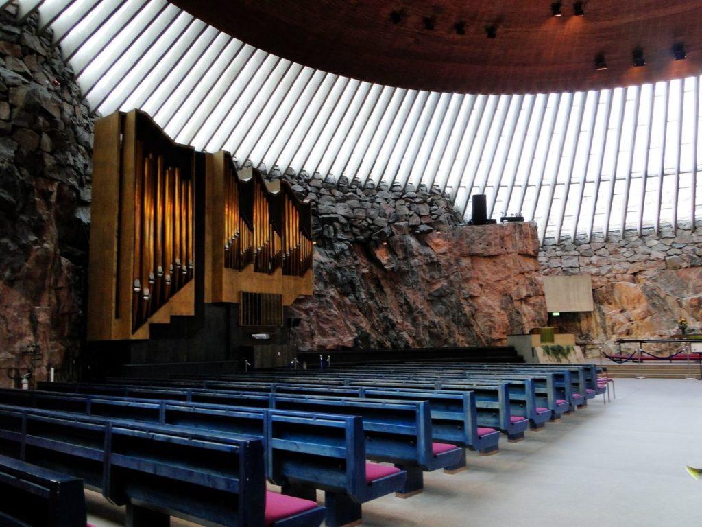 Helsinki -Temppeliaukio (Rotskerk)