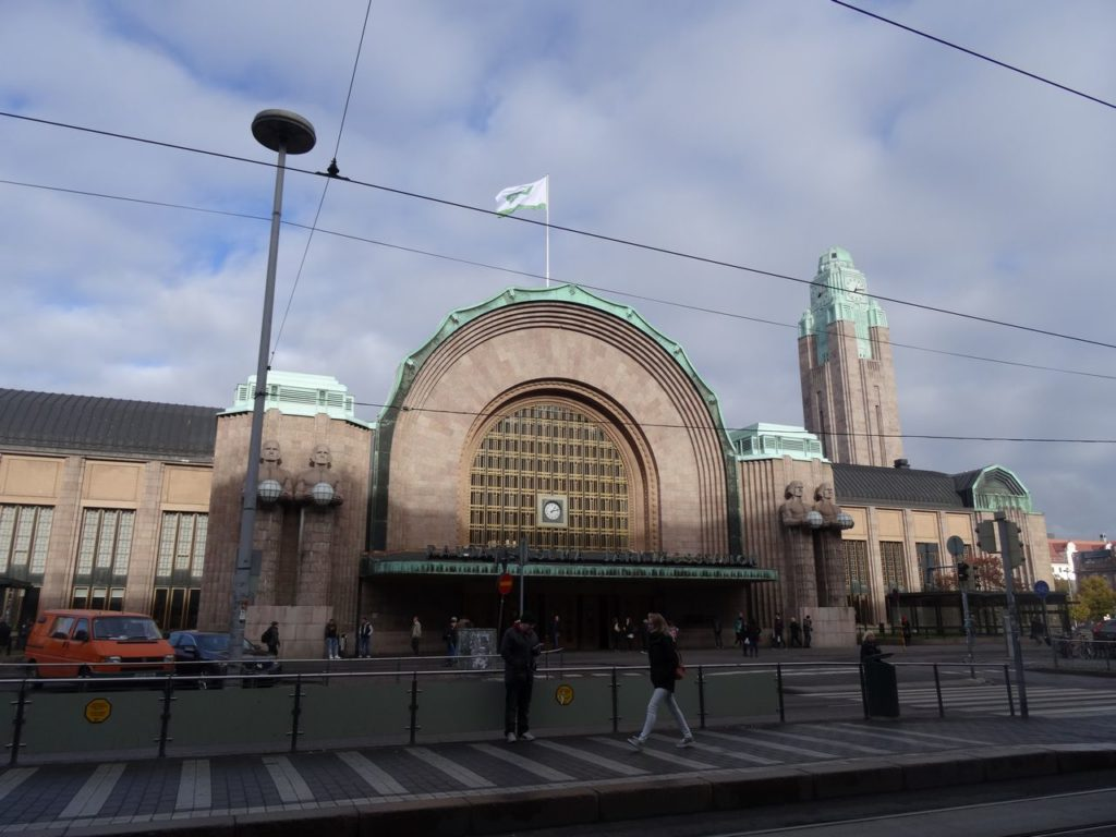Helsinki treinstation