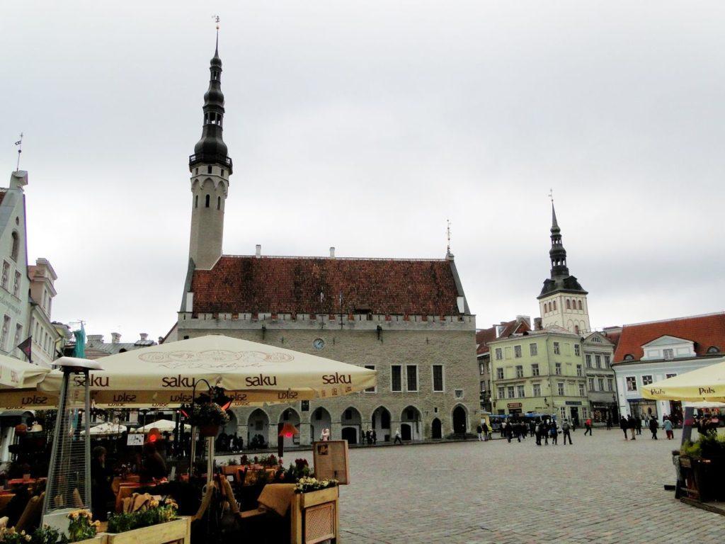 Tallinn - Stadhuisplein