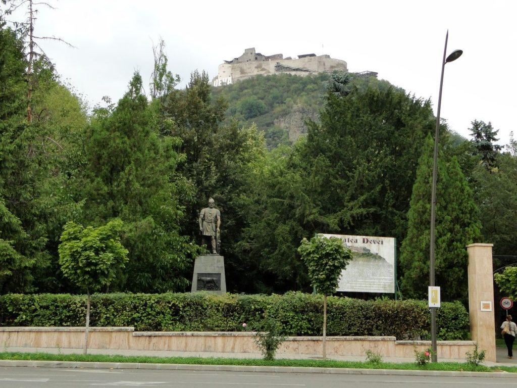 Roemenie Burcht Deva