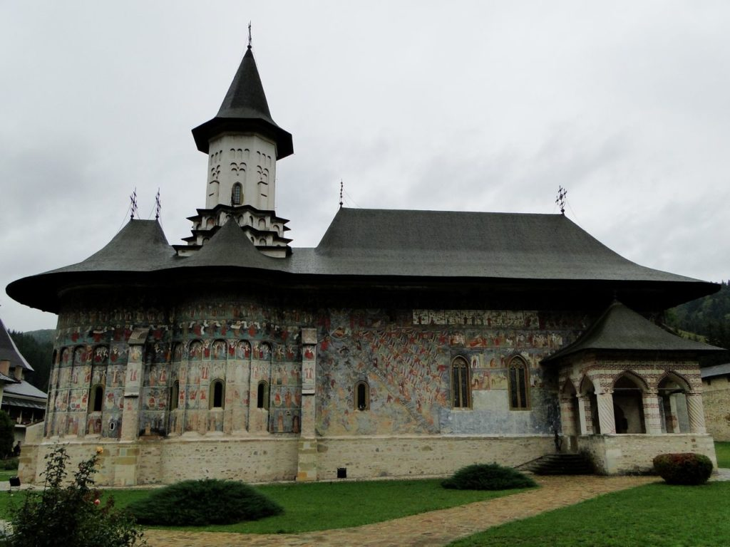 Roemenie - Klooster Sucevita