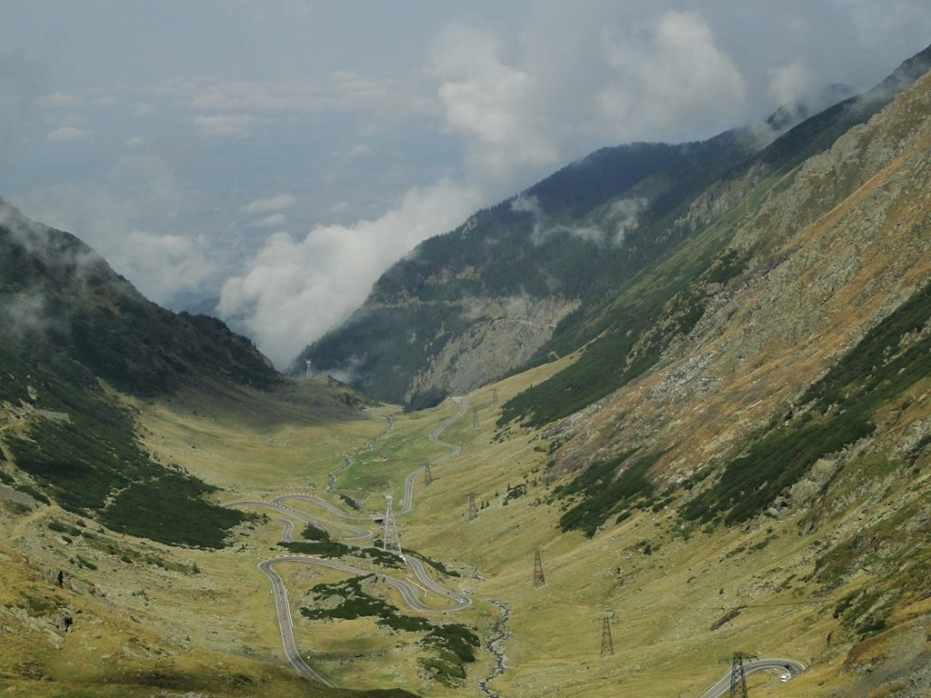 Roemenie Transfăgărășan Road