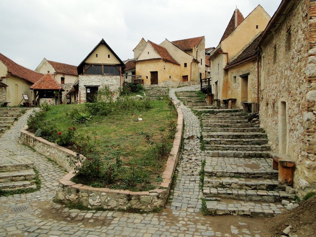 Roemenie - in Rasnov Fortress