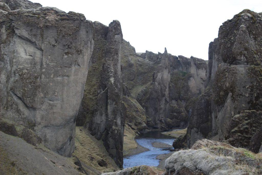 IJsland - Fjadrargljufur Canyon