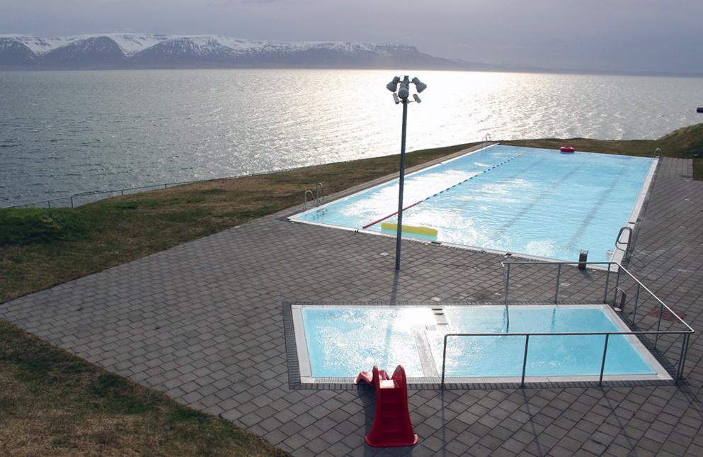 IJsland - Hofsos mooiste zwembad