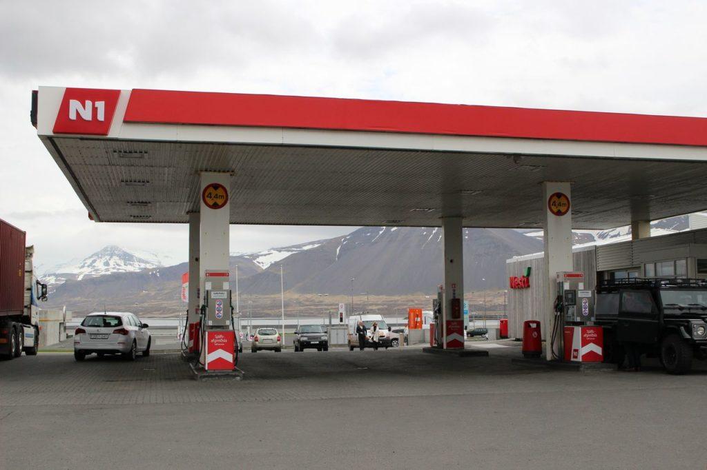 IJsland - Tankstation N1