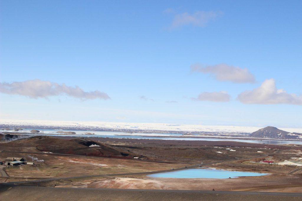 IJsland - Uitzicht over Myvatn