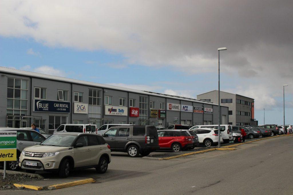 IJsland - Vliegveld Keflavik Autohuur