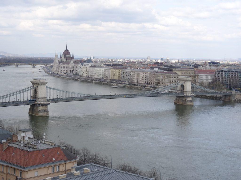Boedapest - Uitzicht vanaf paleis